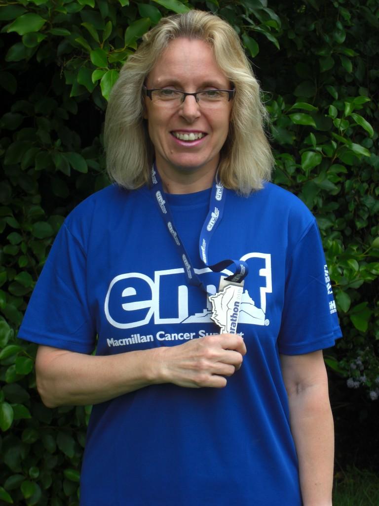 Amanda completes Edinburgh Marathon